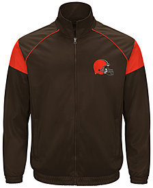 G-III Sports Men's Cleveland Browns Fall Track Jacket