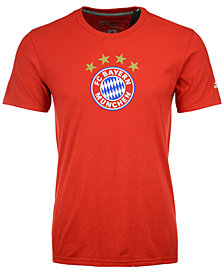 adidas Men's Bayern Munich Crest Performance T-Shirt