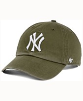 5b59111ce58b9  47 Brand New York Yankees Olive White CLEAN UP Cap