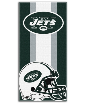 Northwest Company New York Jets Zone Read Beach Towel