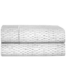 CLOSEOUT! Hotel Collection Colonnade Dusk Twin Sheet Set, Created for Macy's