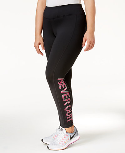 Plus, they go with everything, including sweatshirts and tees. At Woman Within, our plus size leggings are designed with your comfort in mind. Made with just the right amount of stretch—and available in full length and capris—our leggings hug your curves in all the .
