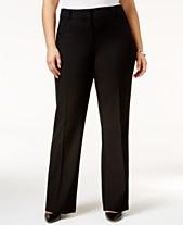 ca50d54c165 Alfani Plus   Petite Plus Size Curvy Bootcut Pants