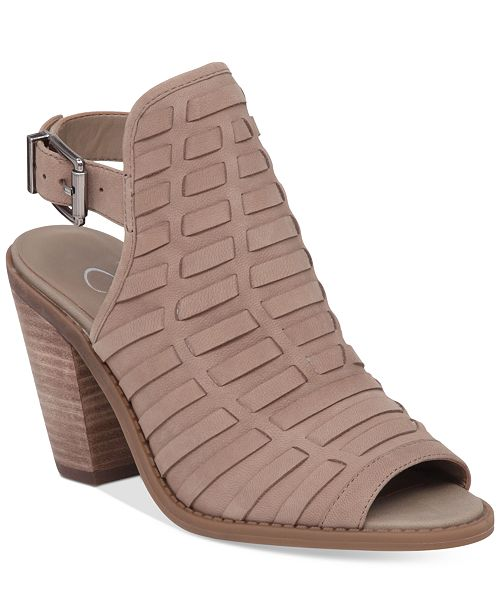 2c3ee47a0b22 Jessica Simpson Celinna Peep-Toe Booties   Reviews - Boots ...