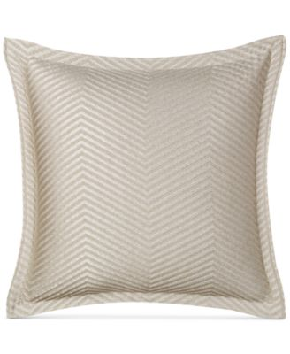 """CLOSEOUT!  Woven Accent 18"""" Square Decorative Pillow, Created for Macy's"""