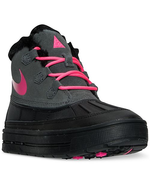 bb8cf1b3371 Nike Big Girls' Woodside Chukka 2 Boots from Finish Line & Reviews ...