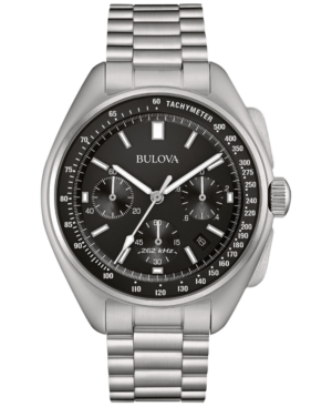 Bulova Men's Chronograph Moon Watch Stainless Steel Bracelet