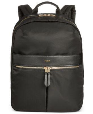 db1ed3e9938f Knomo London Nylon Laptop Backpack   Reviews - Bags   Backpacks - Men -  Macy s