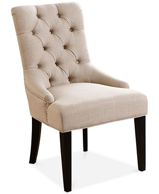 Calyer Fabric Dining Chair, Quick Ship