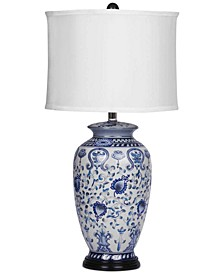 Lisa Hand-Painted Table Lamp
