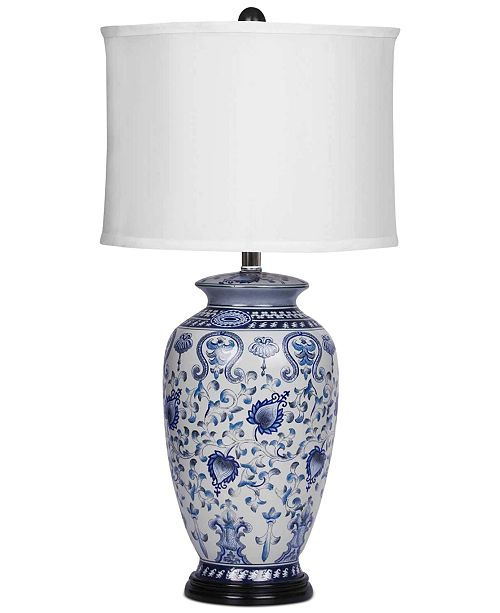 Abbyson Living Lisa Hand-Painted Table Lamp