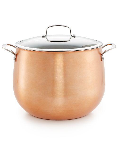 Belgique Copper Translucent 16-Qt. Stockpot, Created for Macy's