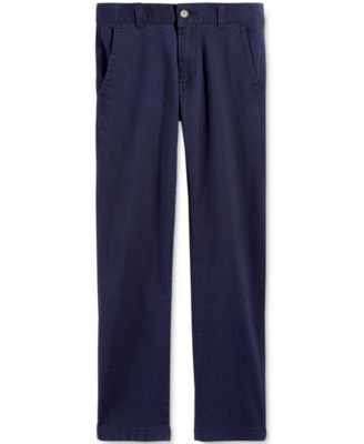 Image of Tommy Hilfiger Boys Cotton Khaki Pants, Big Boys (8-20)