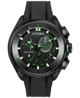 Citizen Men's Proximity Black Polyurethane Strap Watch 46mm BZ1028-04E, Limited Edition