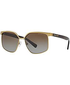Michael Kors Polarized Sunglasses, MK1018 56 August