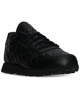 Reebok Women's Classic Quilted Casual Sneakers from Finish Line