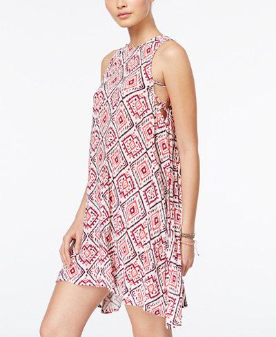Roxy Juniors' Capella Printed Shift Dress