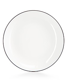 Hotel Collection Black Line Salad Plate, Created for Macy's