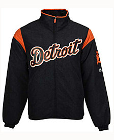 Majestic Men's Detroit Tigers On-Field Thermal Jacket