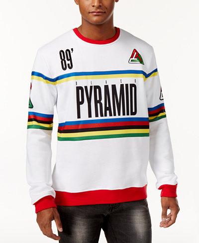 Black Pyramid Men's Graphic-Print Sweatshirt