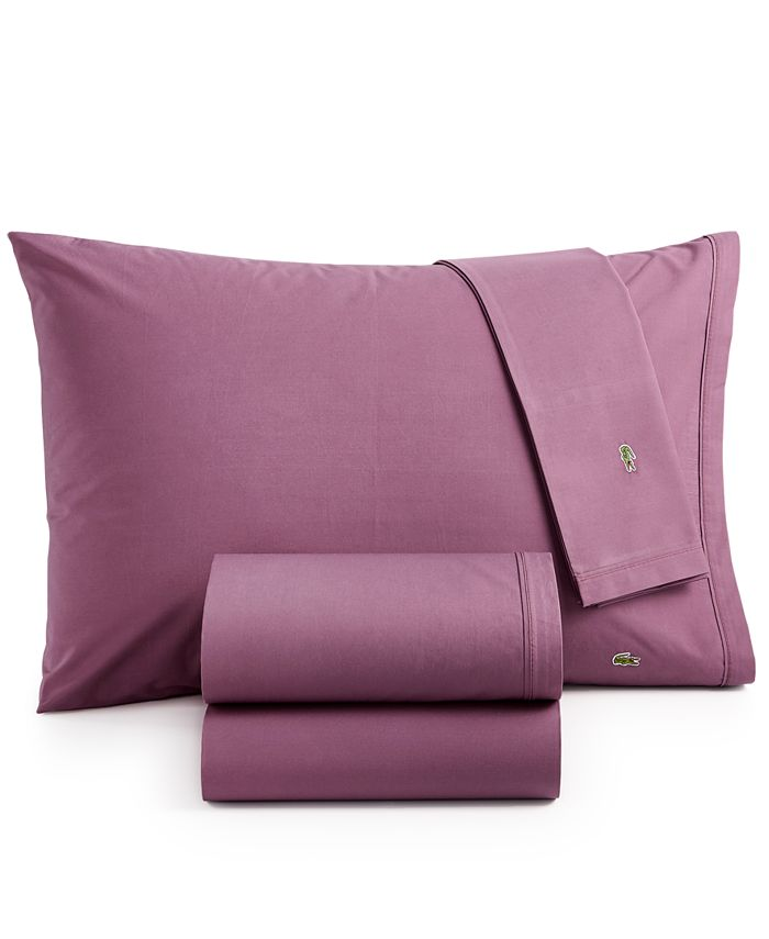 Lacoste Home - Solid Percale Sheet Sets
