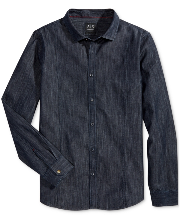 Armani Exchange Men's Denim Shirt
