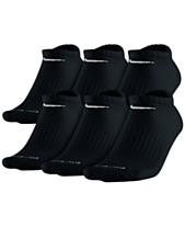 size 40 fc60d 319d2 Nike Men s Socks, Dri Fit No Show 6 Pack. Quickview. 3 colors