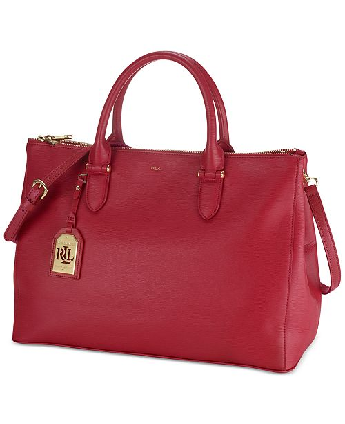 Lauren Ralph Lauren Newbury Double Zip Satchel Handbags