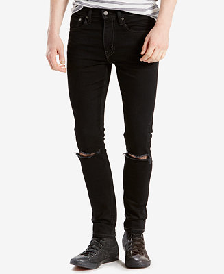 Levi S 519 Extreme Skinny Fit Ripped Jeans Jeans Men