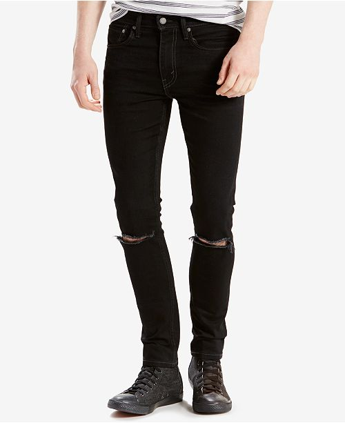 bd02ccec Levi's 519™ Extreme Skinny Fit Ripped Jeans & Reviews - Jeans ...
