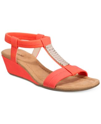 Image of Alfani Women's Vacay Wedge Sandals, Only at Macy's
