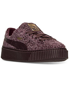 Puma Women's Suede Creepers Elemental Casual Sneakers from Finish Line