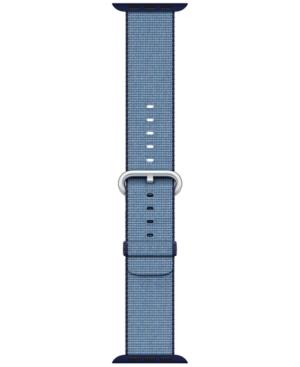Apple Watch 38mm Navy/Tahoe Blue Woven Nylon Band