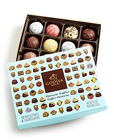 Godiva 12-Pc. Patisserie Truffles Gift Box