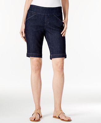 JAG Ainsley Denim Bermuda Pull-On Shorts