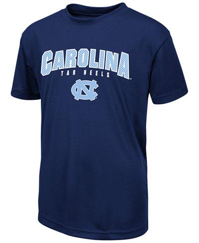 Colosseum North Carolina Tar Heels Mesh Poly T-Shirt, Big Boys (8-20)