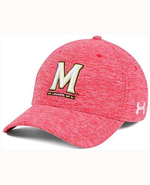 Under Armour Maryland Terrapins Twist Tech Cap - Sports Fan Shop By ... ffa9bd47f19