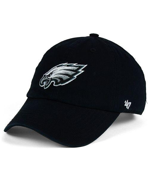 47 Brand Kids  Philadelphia Eagles Clean Up Cap - Sports Fan Shop By ... bf186970ea20