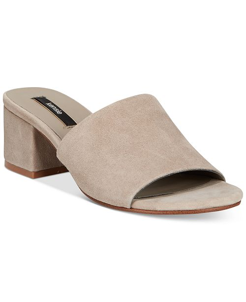 515fc5147418 kensie Helina Slide Sandals   Reviews - Sandals   Flip Flops - Shoes ...