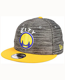New Era Golden State Warriors Blurred Trick 9FIFTY Snapback Cap