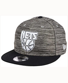 New Era New Jersey Nets Blurred Trick 9FIFTY Snapback Cap
