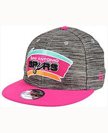 New Era San Antonio Spurs Blurred Trick 9FIFTY Snapback Cap