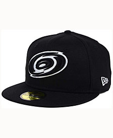 New Era Carolina Hurricanes Black Dub 59FIFTY Cap