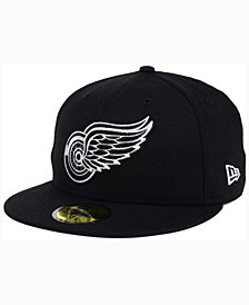 New Era Detroit Red Wings Black Dub 59FIFTY Cap