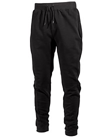 Men's Cotton Fleece Jogger Pants, Created for Macy's