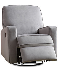 Kennor Swivel Glider Recliner, Quick Ship