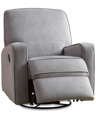 Pulaski Kennor Swivel Glider Recliner Quick Ship Furniture Macy S