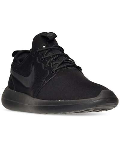 Nike Roshe Two Si Sneaker in Black Lyst Roshe Two Flyknit