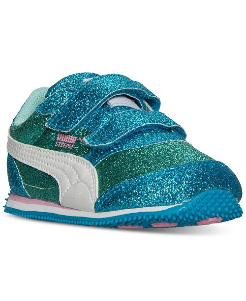 ... Puma Toddler Girls  Steeple Glitz Glam Casual Sneakers from Finish ... 7400bc82f