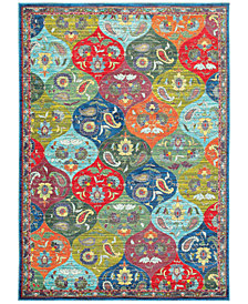 "JHB Design Vibe Panel 6'7"" x 9'6""Area Rug"